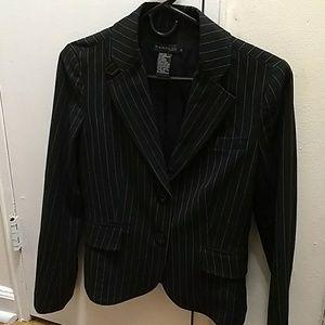Rampage pinstripe suit jacket